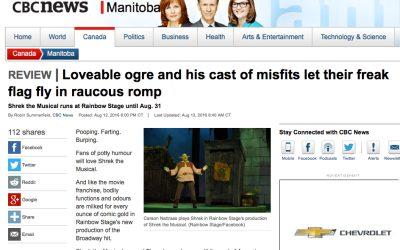 CBC Shrek The Musical Review
