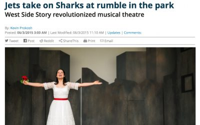 Jets take on Sharks at rumble in the park