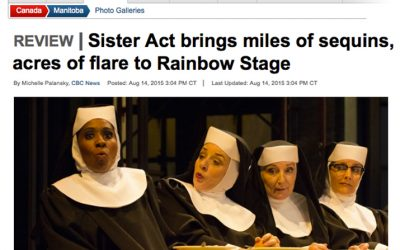 Spread the good word: Rainbow Stage's Sister Act is music for the soul.