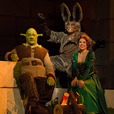 Shrek, Donkey, Fiona