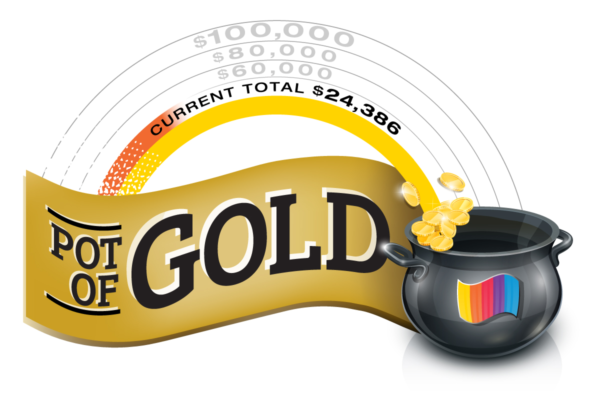Pot Of Gold Donations