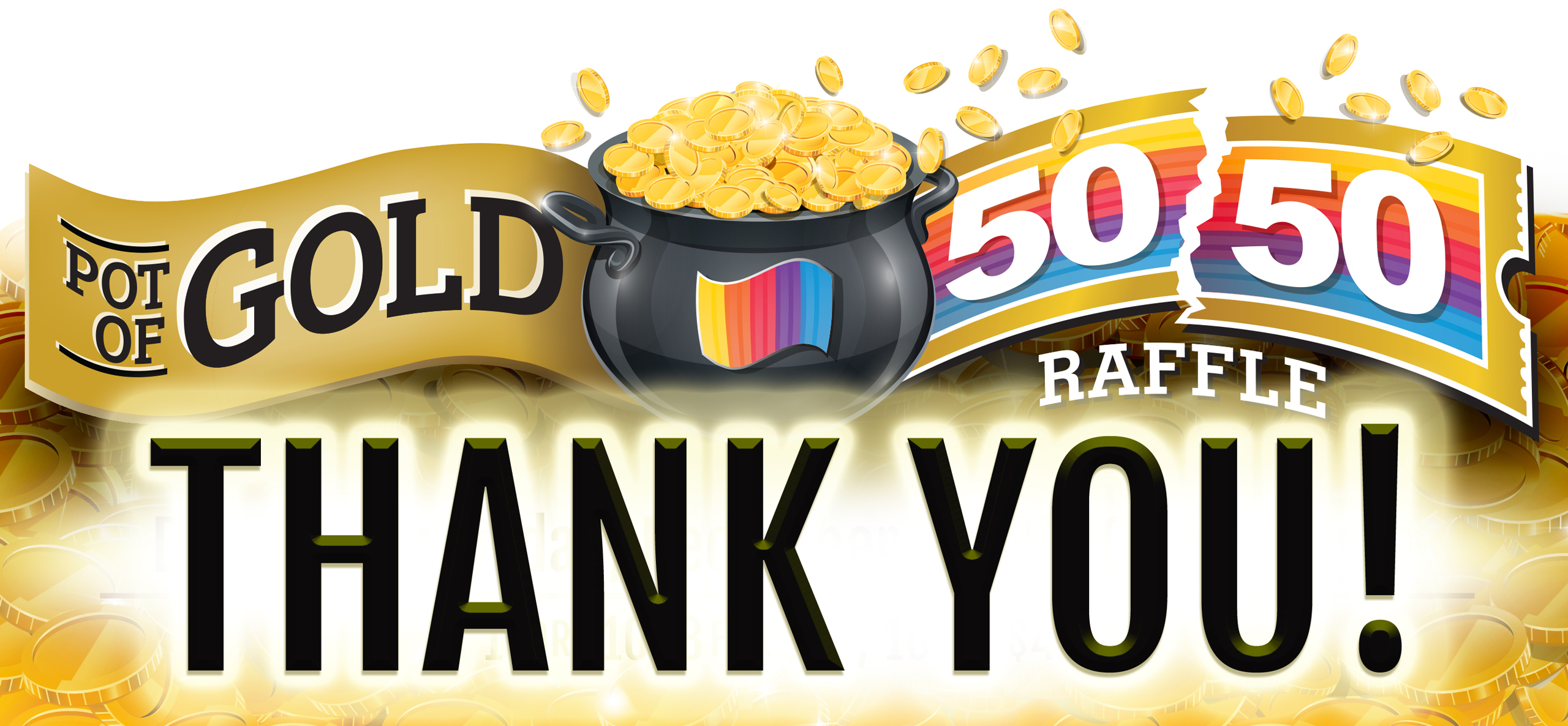 Thank you 50/50 Raffle